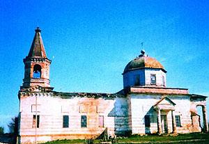 Свято-Троицкий храм в с. Адамовка Днепропетровской обл.
