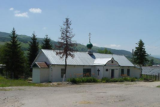 Свято-Троицкий храм в поселке Подкумок